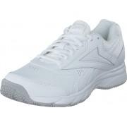 Reebok Work N Cushion 4,0 White/cold Grey 2/white, Skor, Sneakers och Träningsskor, Sneakers, Vit, Dam, 37