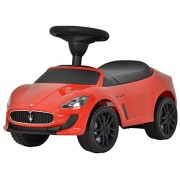 Evezo Maserati GranCabrio MC Ride-On Push Car, Red