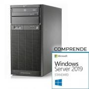 HP Proliant ML110 G6 tower - Xeon Quad Core X3430, 8 Gb Ram, 2x HDD 500 Gb S-ata, Raid Ctrl. Windows Server 2019 Standard