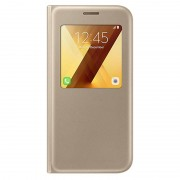 Samsung Galaxy A5 (2017) S-View Standing Case EF-CA520PF - Gold
