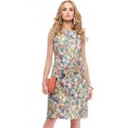 Sukienka 95300 (fioletowy-wzór)