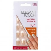 Elegant Touch Natural French Medium Bare Glue