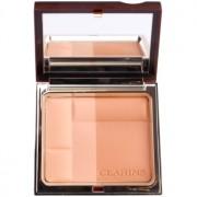 Clarins Face Make-Up Bronzing Duo polvos bronceadores minerales tono 02 Medium 10 g