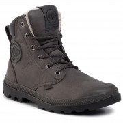 Туристически oбувки PALLADIUM - Pampa Sport Cuff Wps 72992-064-M Dark Gull Gray