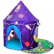 ALPIKA Kids-Tent Toy Castle Playhouse with Mat for Toddler Playing Children Play Tent As Best Gift for Girls Boys