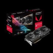 VGA Asus AREZ Strix Radeon RX VEGA56 OC Edition 8GB, AMD RX VEGA 56, 8GB, do 1573MHz, DP 2x, DVI-D, HDMI 2x, 36mj (AREZ-STRIX-RXVEGA56-O8G-GAMING)