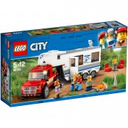 LEGO City Great Vehicles: Pickup and Caravan (60182)