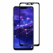 Folie protectie sticla securizata full size pentru Huawei Mate 20 Lite, negru