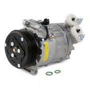 NISSENS Compressore Aria Condizionata 890607 Compressore Climatizzatore,Compressore Clima VW,AUDI,SKODA,POLO 6R, 6C,GOLF VII 5G1, BE1