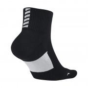Chaussettes de running Nike Elite Cushion Quarter - Noir