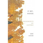 If Not, Winter: Fragments Of Sappho, Paperback
