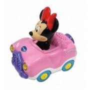 Tut Tut Bólidos de Minnie Disney Descapotable Rosa - Vtech