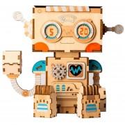 Maceta Robot Lindo De Dibujos Animados Robotime - FT761
