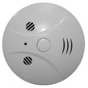 Компактна мини видео камера със скрит датчик за пожар