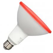 LAMPADINA LED E27 PAR38 IP65 15W ROSSO VT-1125-LED4419