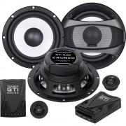 Komplet 2-sustavskih ugradbenih zvučnika 200 W Crunch GTI-6.2c
