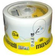 CD-R 52x 80min InkJetPrint 50