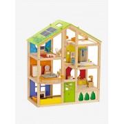 HAPE Casa de bonecas mobilada, Hape multicolor