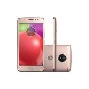 Smartphone Motorola Moto E4 Dual Chip Android 7.1 Tela 5 Quad-Core 16GB 4G Wi-Fi Câmera 8MP - Ouro Rosê