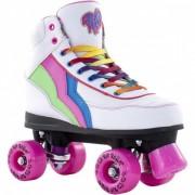 RIO Roller Rolschaatsen regenboog wit maat 37