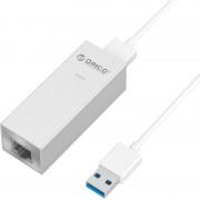 Placa de Retea ASL-U3 PRO Gigabit cu HUB USB USB3.0 argintiu