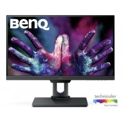 BenQ PD2500Q LED-monitor 63.5 cm (25 inch) Energielabel B 2560 x 1440 pix WQHD 4 ms HDMI, USB, DisplayPort, Mini DisplayPort, Hoofdtelefoon (3.5 mm jackplug),