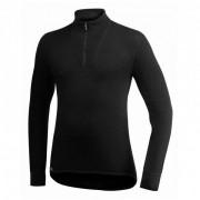 Woolpower - Zip Turtleneck 400 - Manches longues taille L, noir