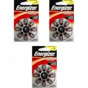3 Blisters Con 8 Pilas C/u ENERGIZER, A312, Auditiva ,HA 312-BP8