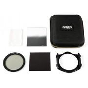 Cokin Traveller Kit Creativo Incluye Soporte de Filtro de la Serie M (P), polarizador Circular (P164), ND8 3-Stop (P154), ND4 2-Stop Hard (P121M), Funda de Filtro (M3068)