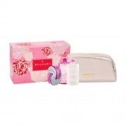 Bvlgari Omnia Pink Sapphire подаръчен комплект EDT 65 ml + лосион за тяло 75 ml + душ гел 75 ml + козметична чантичка за жени