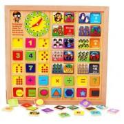Joc creativ tabla din lemn tip puzzle