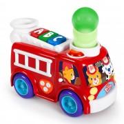 Bright Starts Having A Ball Fire Truck & School Bus