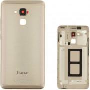 Compatibile Huawei A - Scocca con telaio per Honor 7 Lite - Oro (Bulk)