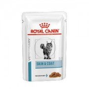 Royal Canin Veterinary Diet Royal Canin Skin & Coat Sachets pour Chat 4 x 12 sachets