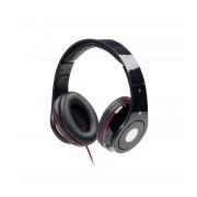 Casti stereo Gembird Detroit MHS-DTW-BK cu microfon, pliabile, negru-rosu