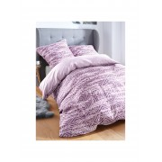 Smail Bettbezug ca. 135x200cm / Kissenbezug ca. 80x80cm. Smail lila