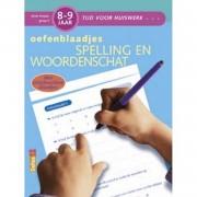 Oefenblaadjes spelling en woordenschat / 8-9 jaar