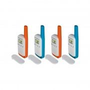 Motorola Talkabout T42 Quad walkie talkie (4db) B4P00811MDKMAQ