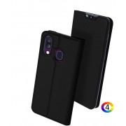 Samsung Galaxy A40 DUX DUCIS Кожен Калъф и Протектор