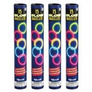 Toysmith Glow Bracelets in Tube (60 per order - 4 tubes)