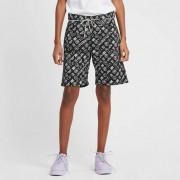 Aries Monogram Jeans Shorts Black/White