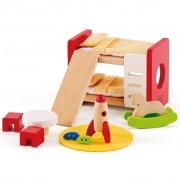 Chambre D'enfant Pour Maison De Poupée Hape E3456