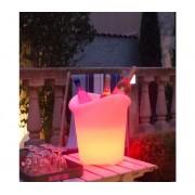 Verlichte Wijnkoeler Yuppy C 35cm | 5W (Batterij) | Gekleurd Licht