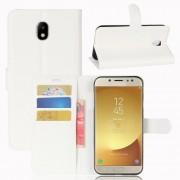 Fehér notesz tok Samsung Galaxy J7 (2017) telefonhoz