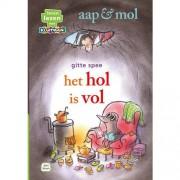 Leren lezen met Kluitman: aap & mol het hol is vol - Gitte Spee