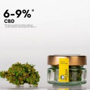 CBD Blüten Blümel 5g+1g GRATIS