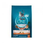 Purina ONE Tender Selects Blend with Real Chicken Dry Cat Food, 3.5-lb bag