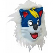 Haloween Animal Mask Latex Dog Face Mask Costume Party Fancy Dress Mask Cosplay Face Mask (Assorted)
