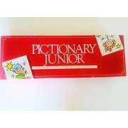 """Pictionary Junior """"The Game Of Quick Draw"""" For Childern (Original 1987 Factory Sealed Game) By Parker Bros."""