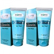 GLOWIN FACE WASH (SKIN REJUVENARING ANTI ACNE)-60ML(PACK OF TWO)